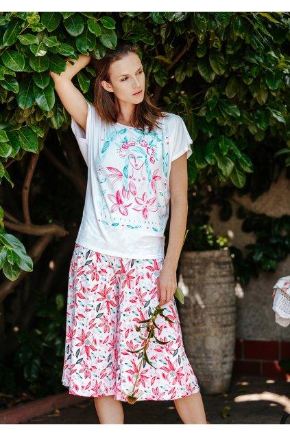 Dámské pyžamo z bambusu Key LNS 505 2