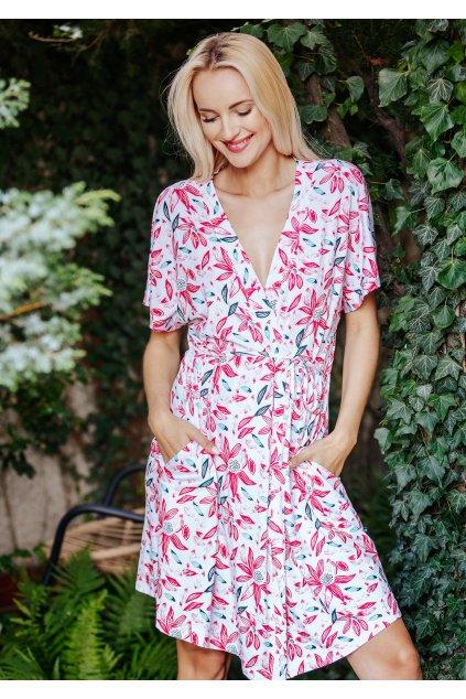 Lehké šaty - homewear z bambusu Key LGS 505