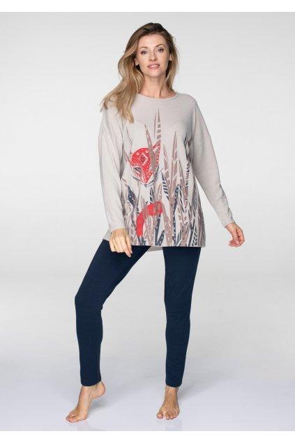 Dvoudílný dámský set na doma - homewear LHS 736 KEY