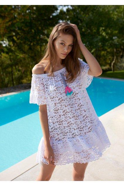 azurowa sukienka plazowa nymph poupee marilyn 3