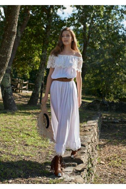 dluga sukienka plazowa white island poupee marilyn 3