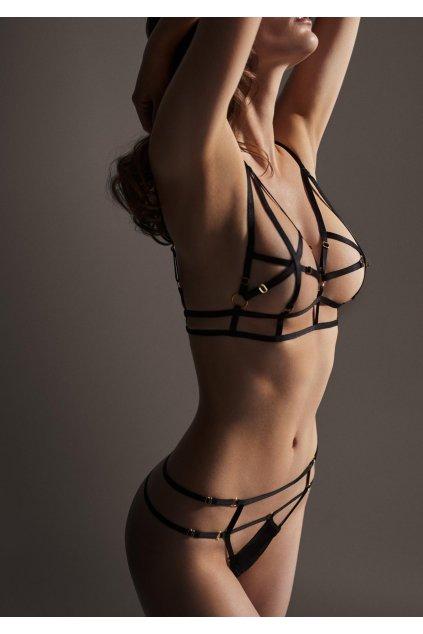 stringi z elastycznych paseczkow magnifique poupee marilyn 3