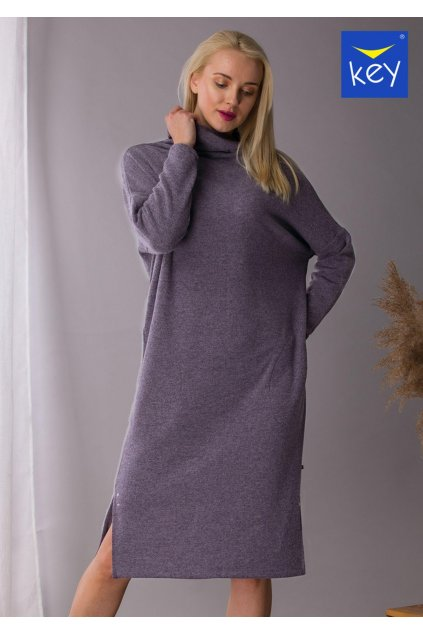 sweterkowa luzna sukienka lhd 202 1