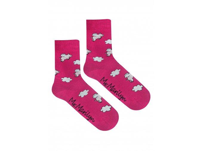 Ponožky MEN ANGEL PIGS
