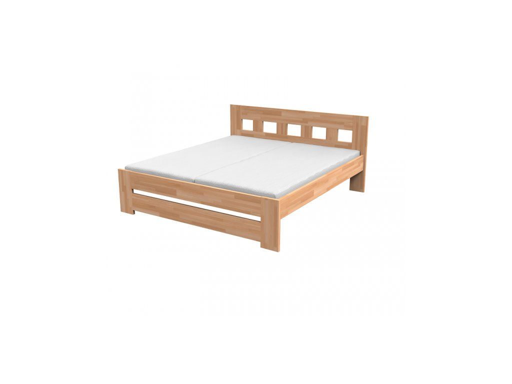 Kvalitná masívna posteľ JANA