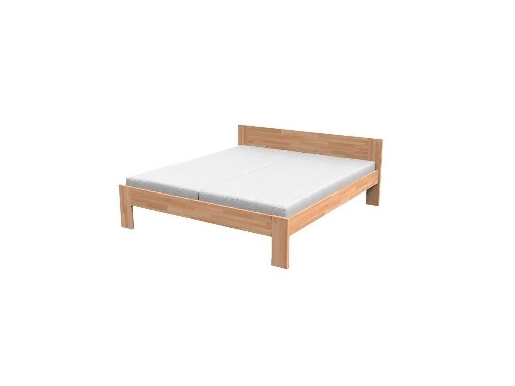 Masívna manželská posteľ NATÁLIA