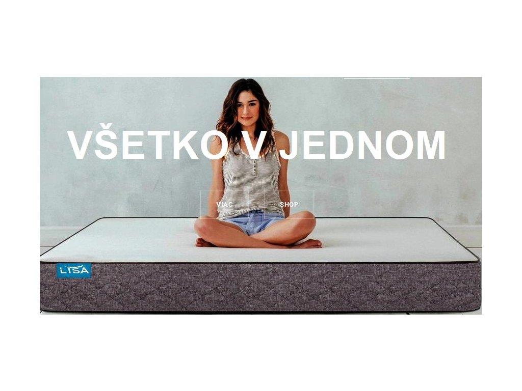 Sendvičový matrac LISA (Rozmer 200x90)