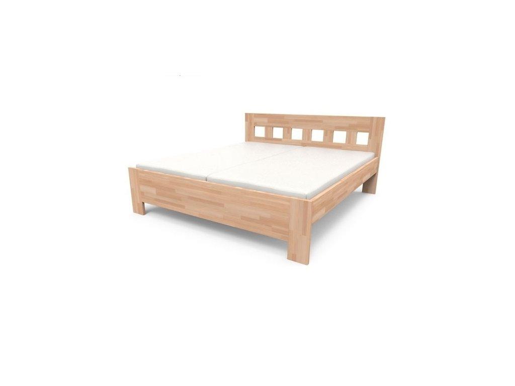 Kvalitná masívna posteľ JANA SENIOR