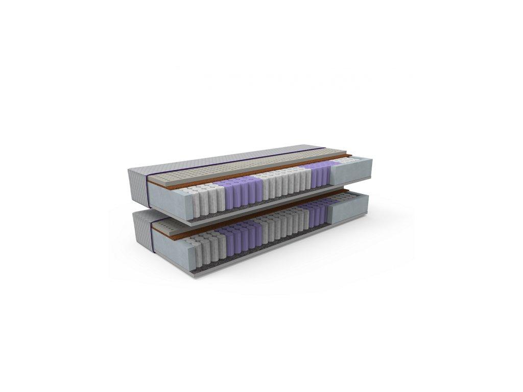 Kvalitný taštičkový matrac STELA BIO 1+1