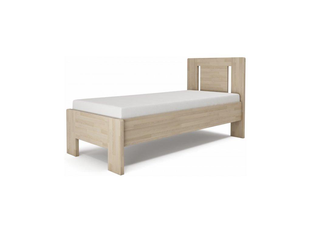 Jednolôžková posteľ LÍVIA - vertikálne čelo