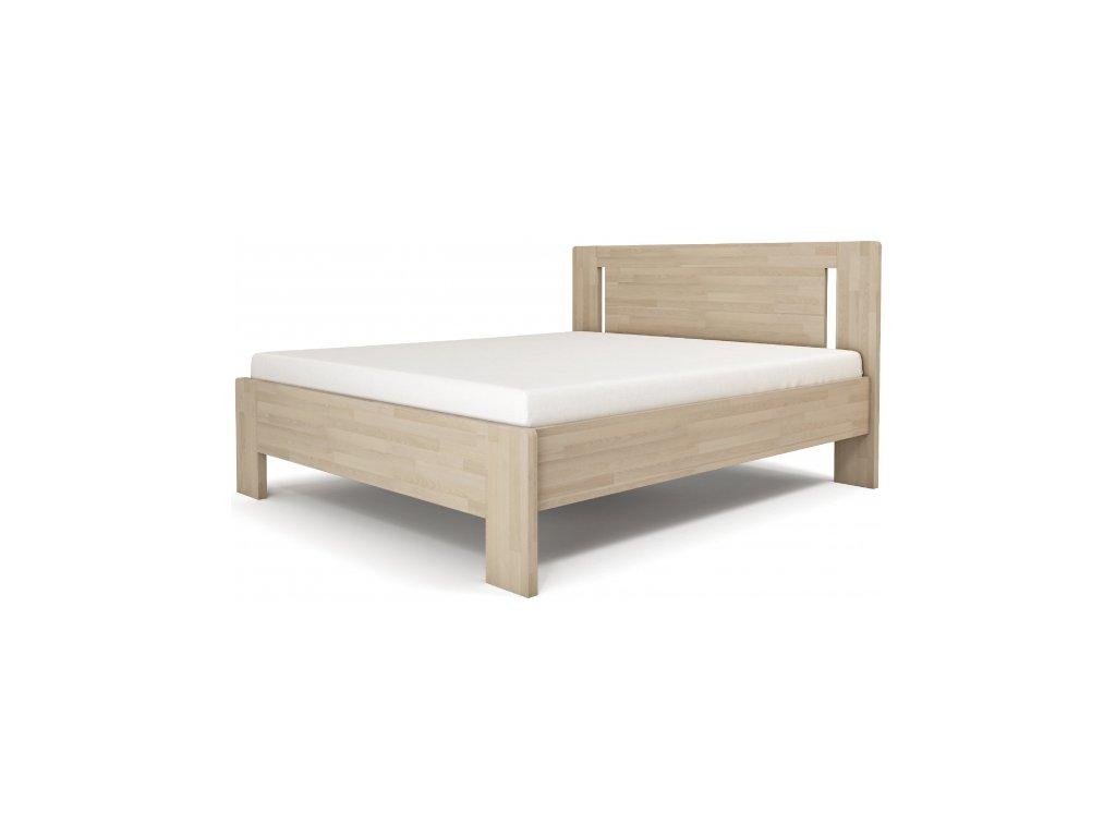 Manželská posteľ LÍVIA - vertikálne čelo