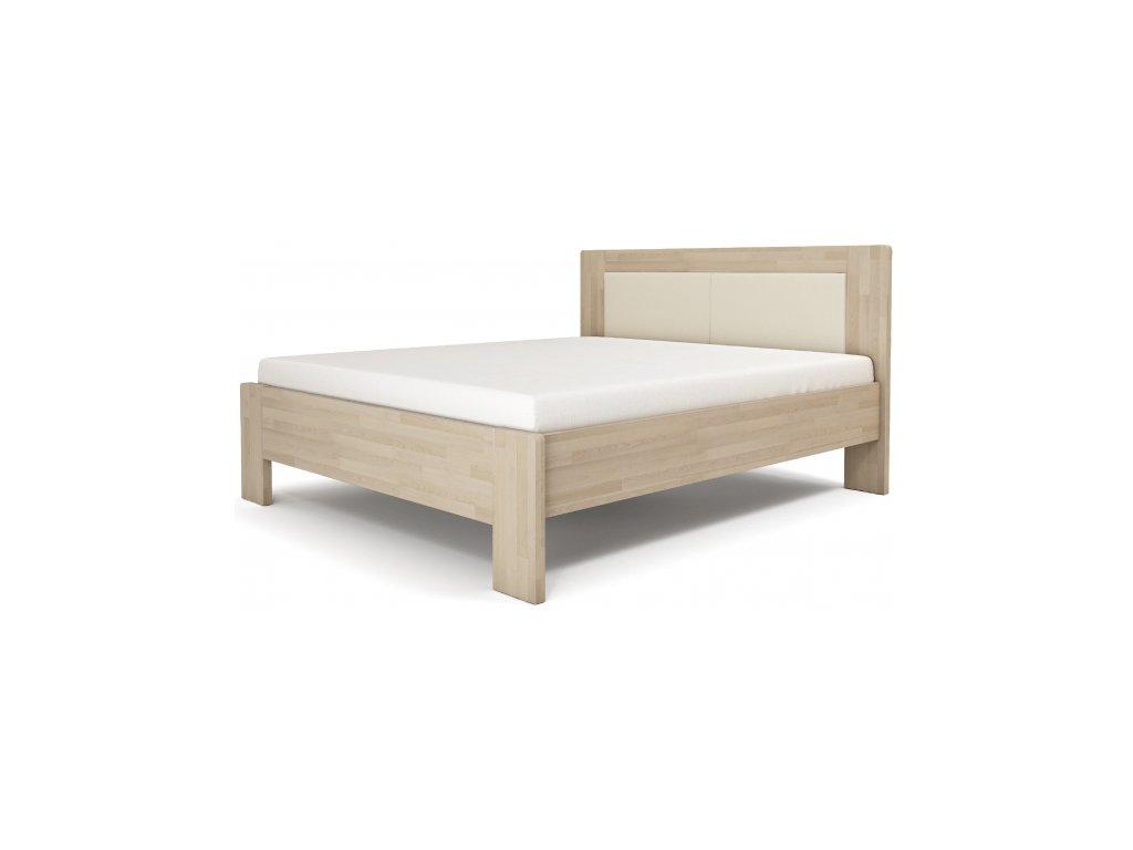 Manželská posteľ LÍVIA - čalúnené čelo