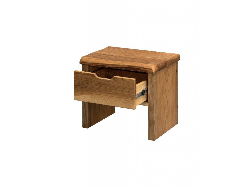 Brestový nočný stolík