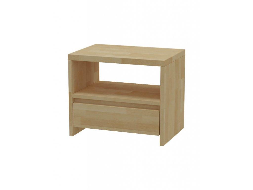 Nočný stolík MS 3   /výpredaj - orech/