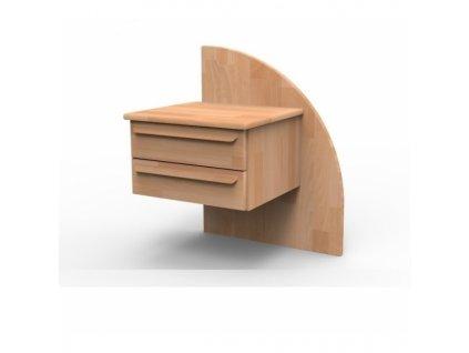 Kvalitný masívny nočný stolík PETRA