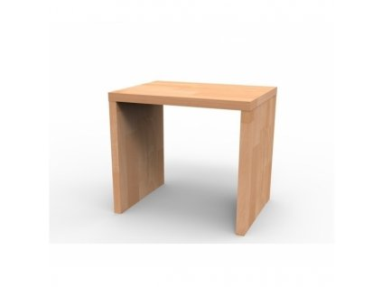 Kvalitný masívny nočný stolík UNI
