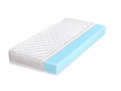 Kvalitný penový matrac zo studenej peny (Rozmer 200x80, Typ matraca + ovčia vlna + bavlna (zimná + letná strana))