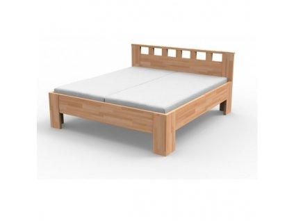 Manželská masívna posteľ LUCIA