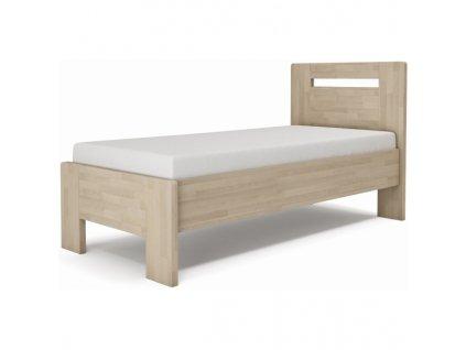 Jednolôžková posteľ LÍVIA - horizontálne čelo
