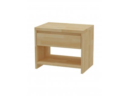 Nočný stolík MS 2   /výpredaj - biela/