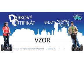 Dárkový certifikát VZOR