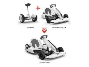 Ninebot S + Gokart Kit