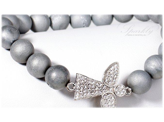 Elegantní náramek Silver Angel