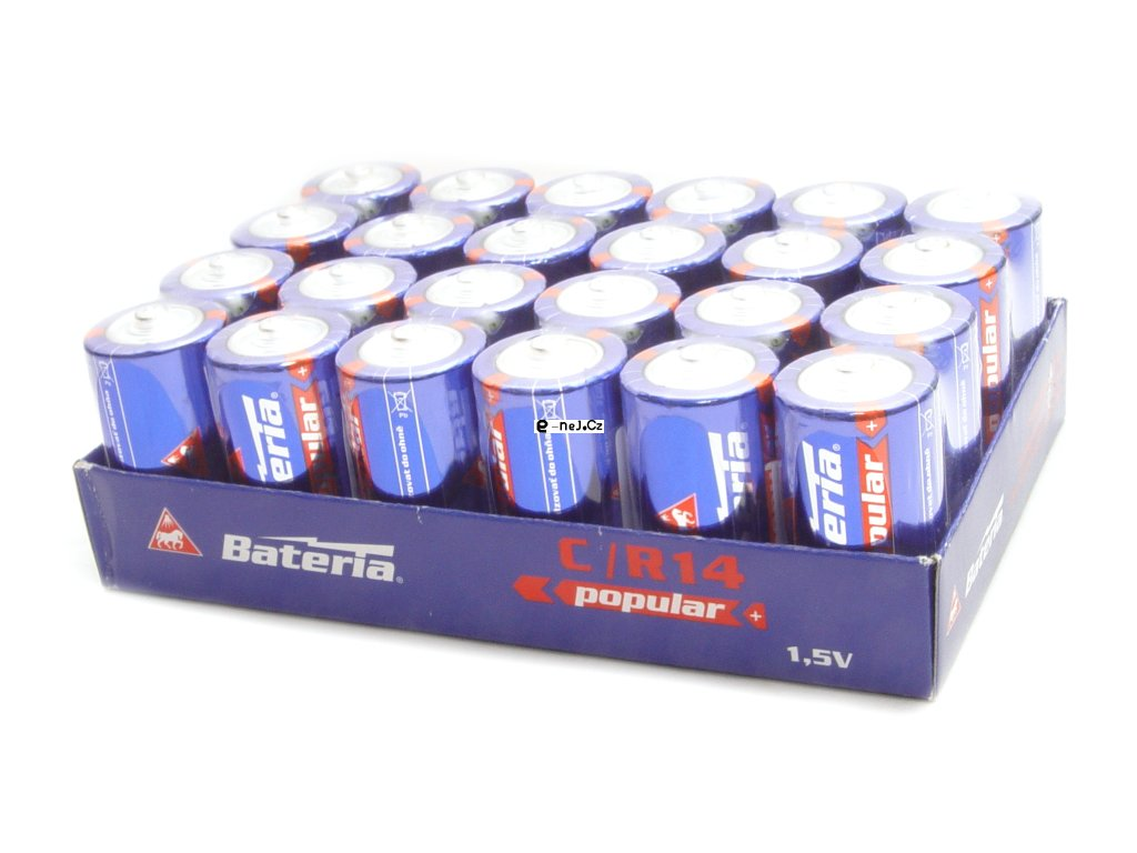 Baterie typu C balení 24ks