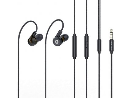 Speciální sportovní Hi Fi sluchátka s 3 páry měničů s mikrofonem