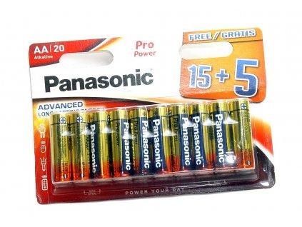 baterie panasonic alkaline propower aa