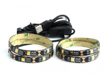 RLS 101 USB LED pásek 30LED CW RETLUX