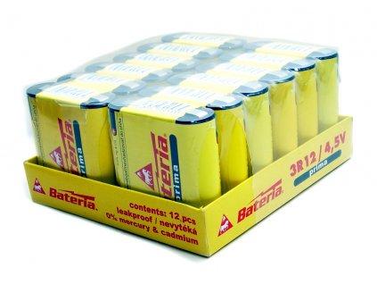 Baterie 4,5V ploché Bateria slaný