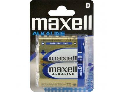 LR20 2BP D Alkaline MAXELL baterie