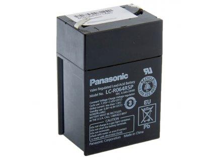 Panasonic 6V 4,5Ah olověný akumulátor LC R064R5P