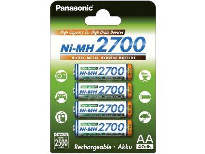 Panasonic HR6 AA 3HGAE 4BE HICAP 2700mah