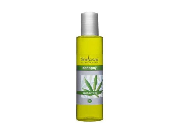 Konopný sprchový olej
