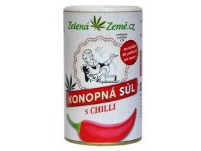 konopná sůl s chilli