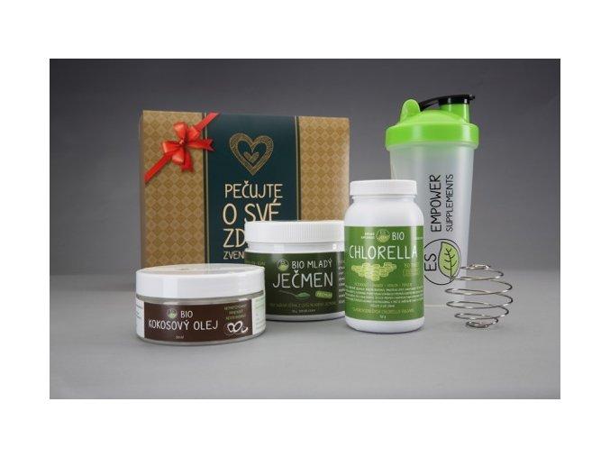 Vánoční zdravý balíček zelený