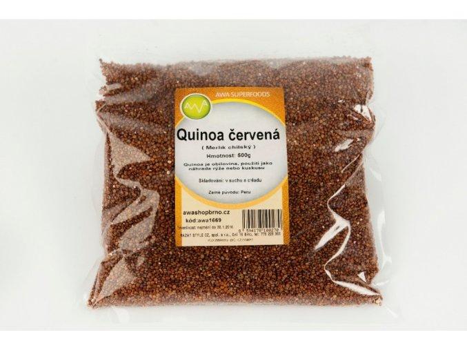 awa superfoods quinoa cervena 500g