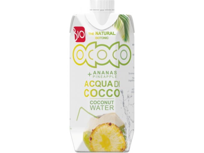kokosovo ananasova voda