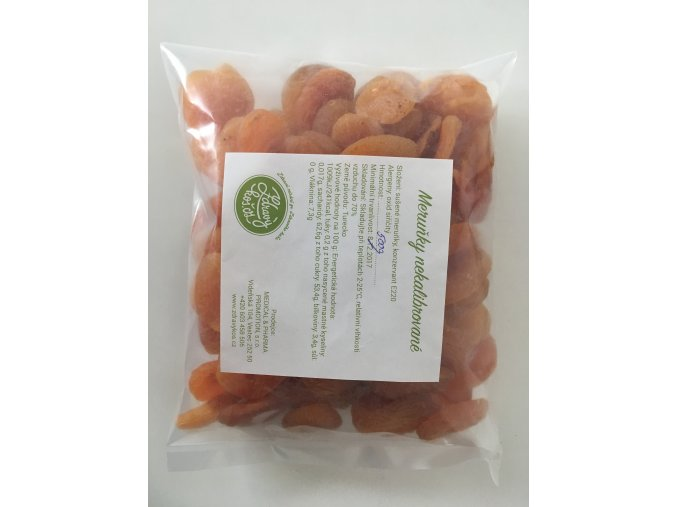 Meruňky nekalibrované