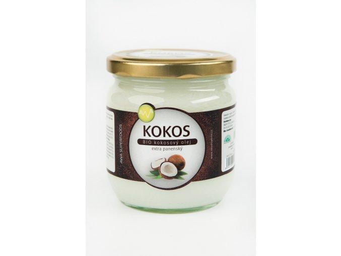 AWA superfoods BIO Kokosový olej 450ml