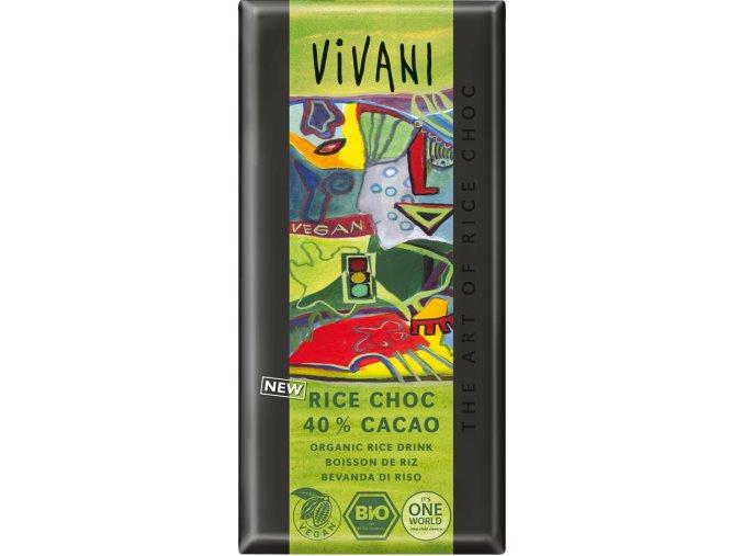 Vivani Rýžová čokoláda Bio 100g