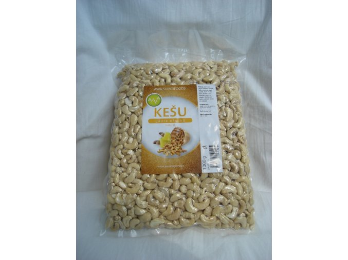 RA FOOD Kešu oříšky natural 1000 g