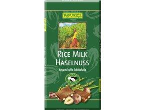 """RAPUNZEL Bio rýžová """"čokoláda"""" s oříšky 100 g"""