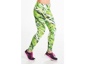 Nessi dlouhé běžecké legíny 26 zelené