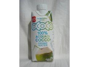 Bio kokosová voda 100% 330 ml