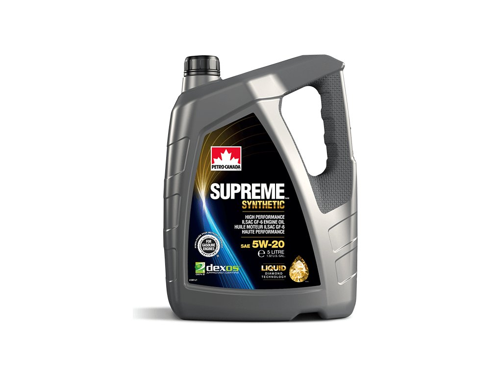 PETRO-CANADA Supreme  Synthetic 5W-20 5L