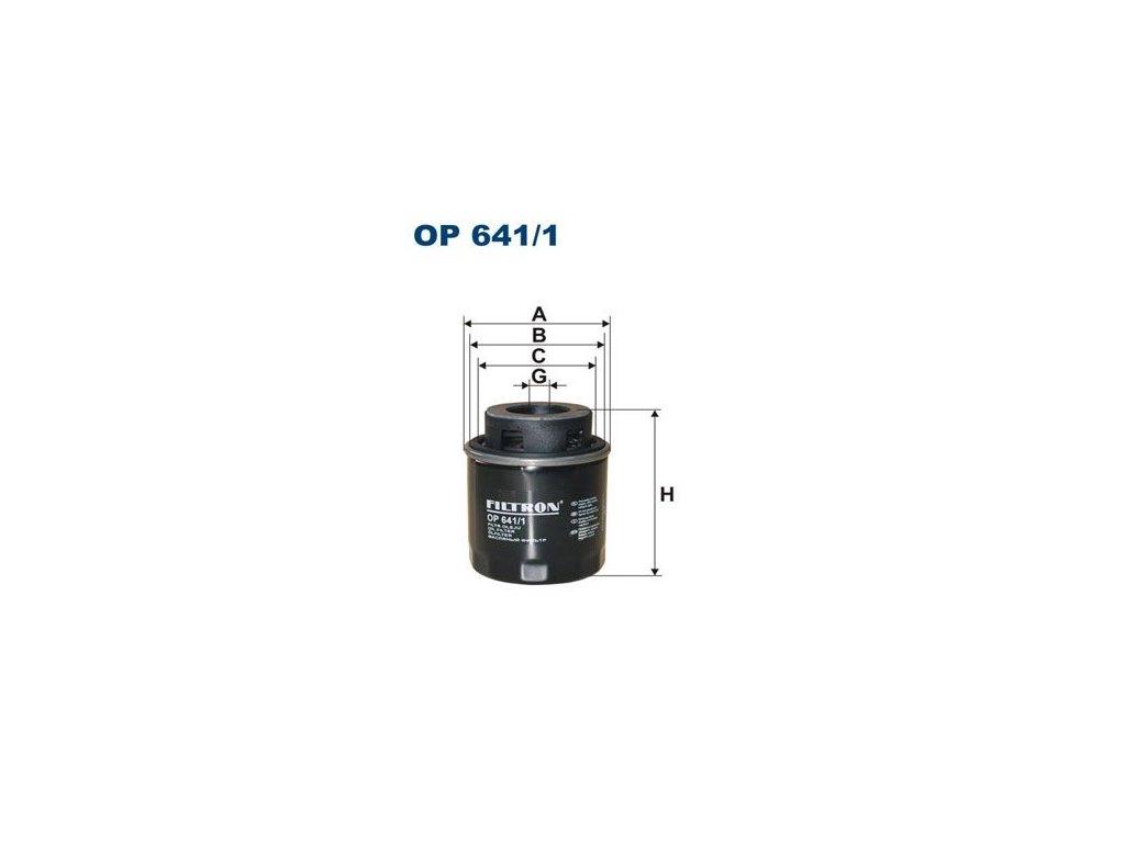 Filtron OP641/1  1ks