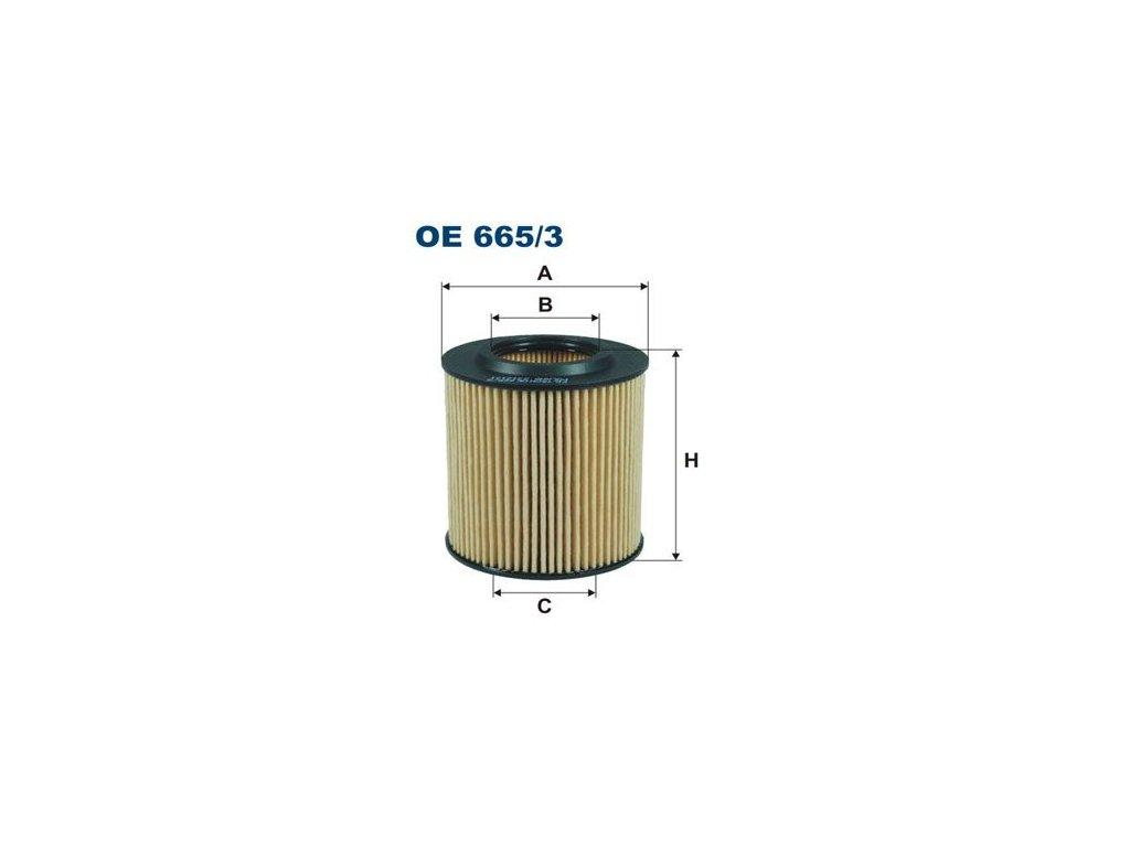 Filtron OE665/3  1ks